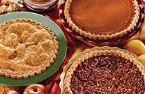 Try delicious homemade holiday pies, breads and other baked goods