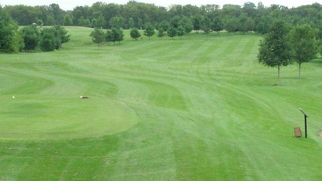 Wide fairways and generous sized greens