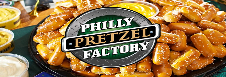Philly Pretzel Factory banner Whitehall, PA