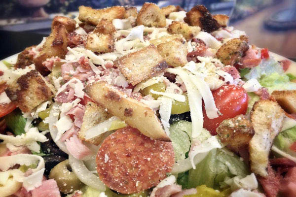 Picasso's Antipasto Salad is the best in Buffalo