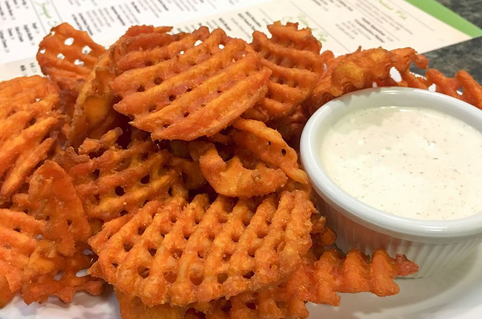 photo of waffle fries from Pickles & Rye Deli in West Bloomfield Township, MI