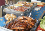 Supreme BBQ Catering Station prepared by Picnic Depot in Flanders NJ
