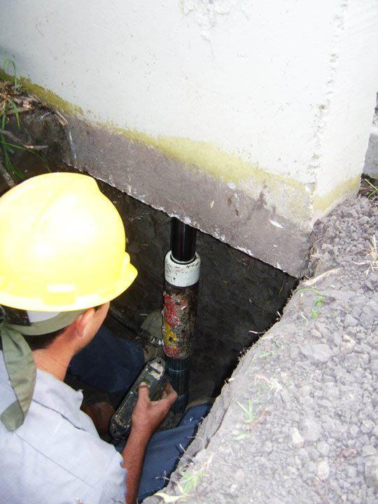 mudjacking, foundation repair