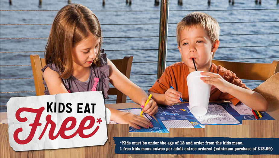 kids eat free pinchers venice, wesley chapel & lakewood ranch, fl