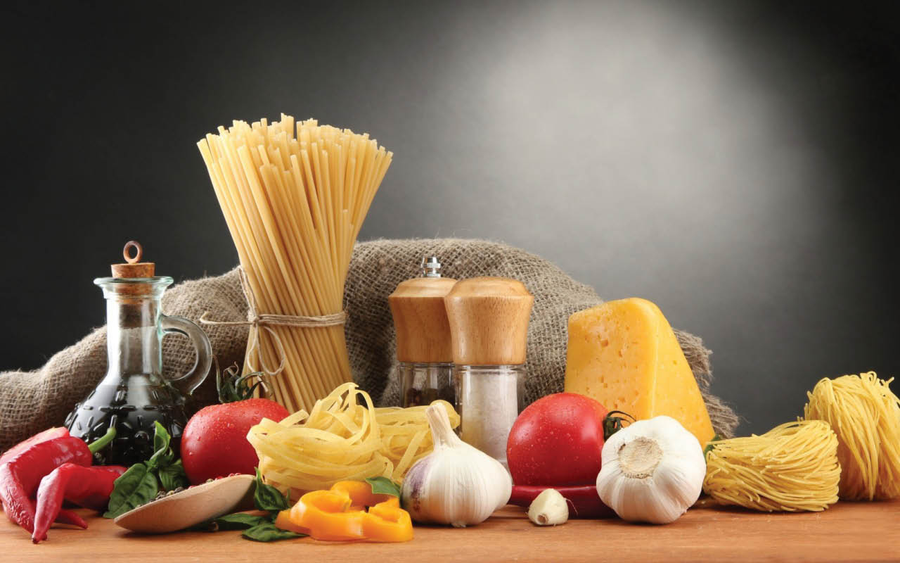 All fresh and natural ingredients go into our homemade pizzas and Italian foods