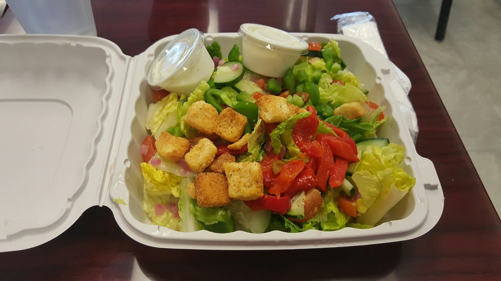 Fresh salad from Pizza Addict in Renton, WA - Renton pizza restaurants