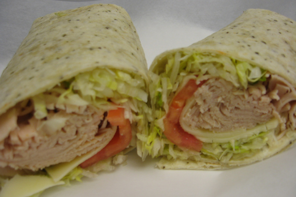 turkey wrap lunch combos