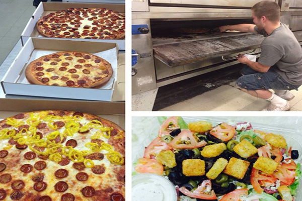 Pizza delivery lancaster depew area