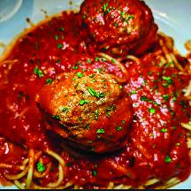 Spaghetti, Meatballs & Sauce
