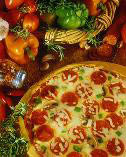 Gepetto's Homemade Pizza with loads of gourmet toppings