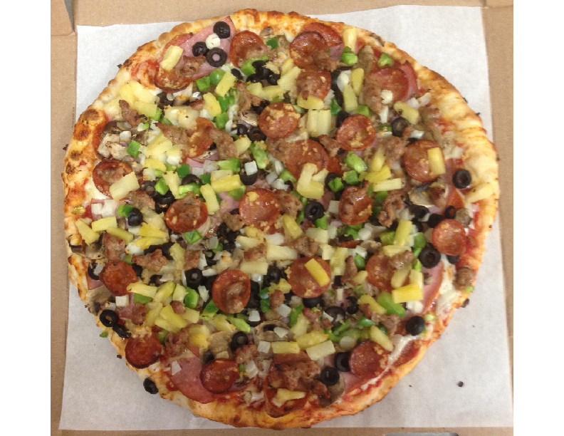 Stop by Fatte's Pizza in Santa Maria for a Fatte's Special.