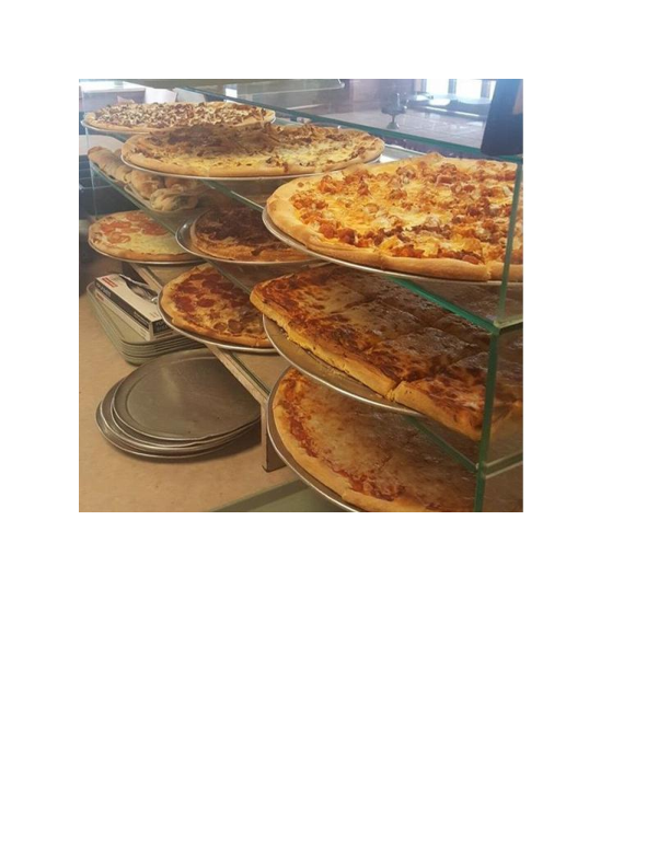 Variety of pizzas from Pizza Pro's in Vernon NJ