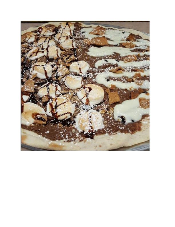 Nutella Dessert Pizza from Pizza from Pizza Pro's in Vernon NJ