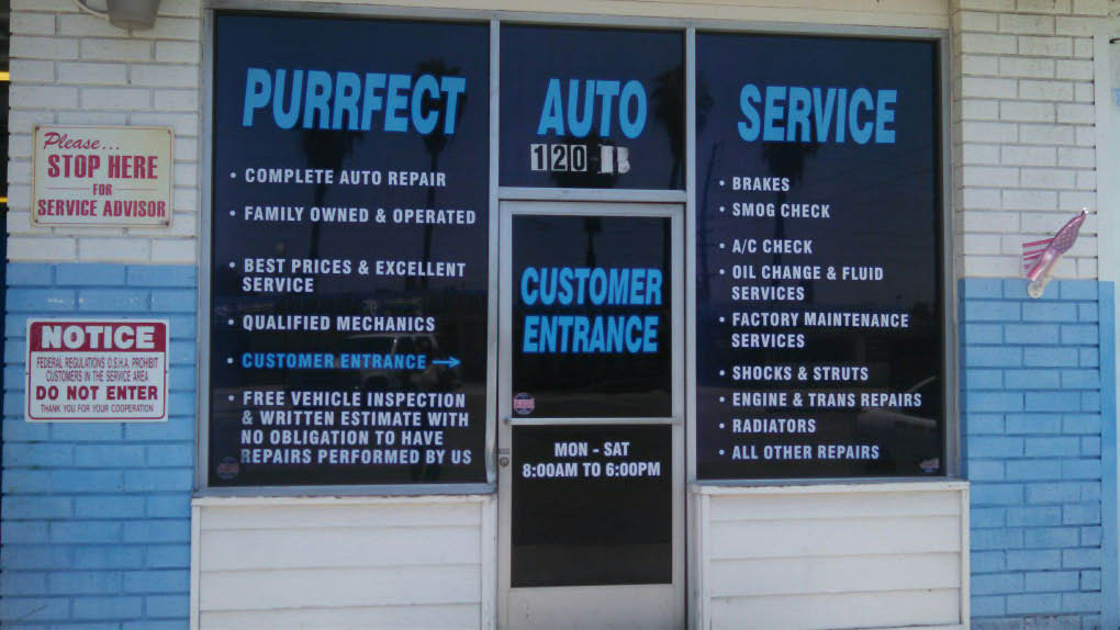 Purrfect Auto Service Brake Inspection CA