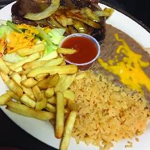 Steak dinner at Plato Loco