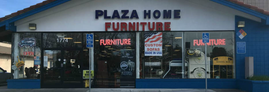 Plaza Home Furniture in Concord, CA banner storefront image