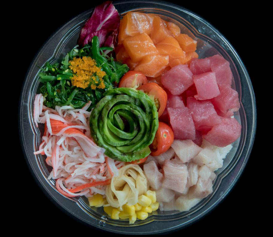 Fresh Poke at Poke Lover - two locations in Seattle, Washington - Poke restaurant