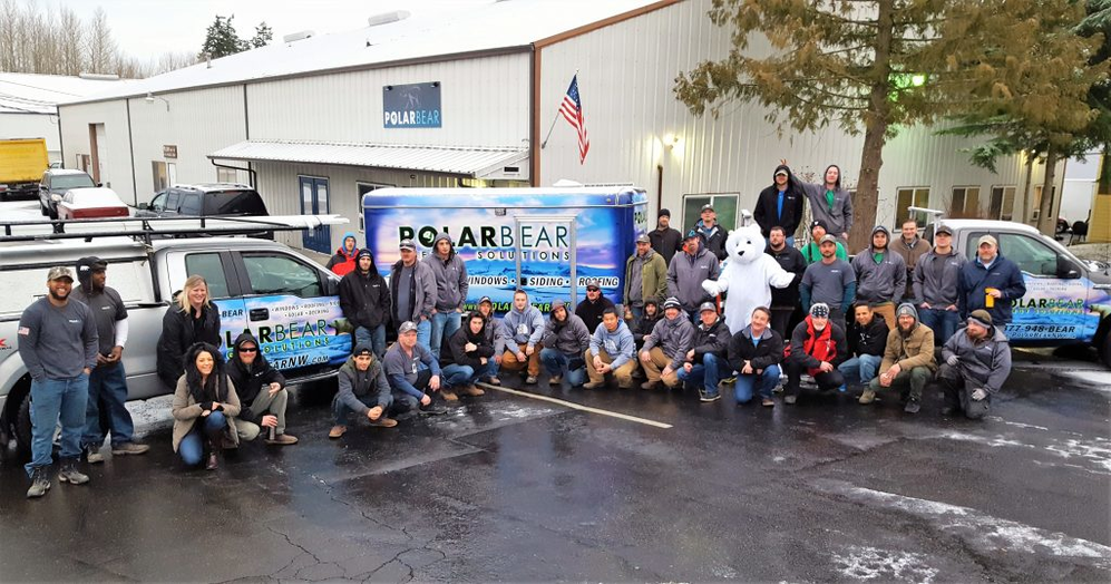 Polar Bear Energy Solutions staff and crew - best in the business - Mukilteo, WA