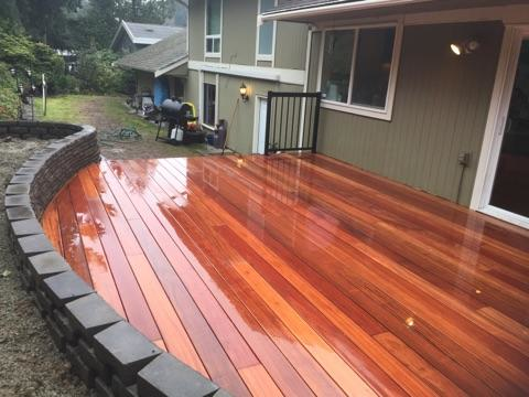 Polar Bear Energy Solutions - deck installation - decking - deck building - outdoor living spaces - Mukilteo, WA