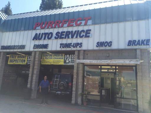 Purrfect Auto Service Brake Inspection, Pomona, CA