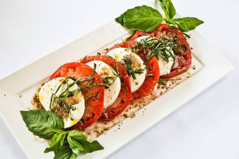 Tomato caprese salad from Pompeii