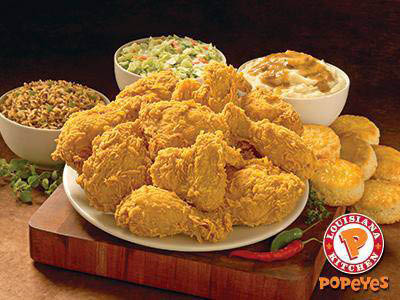popeyes, popeyes chicken, chicken, take out, fast food, valpak, popeyes coupon, fried chicken