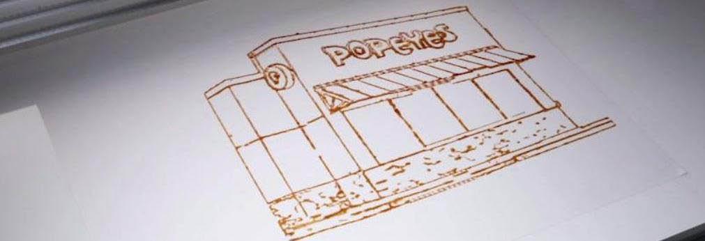 Popeye's Banner