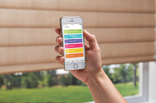 Powerview App from Hunter Douglas Available at Aero