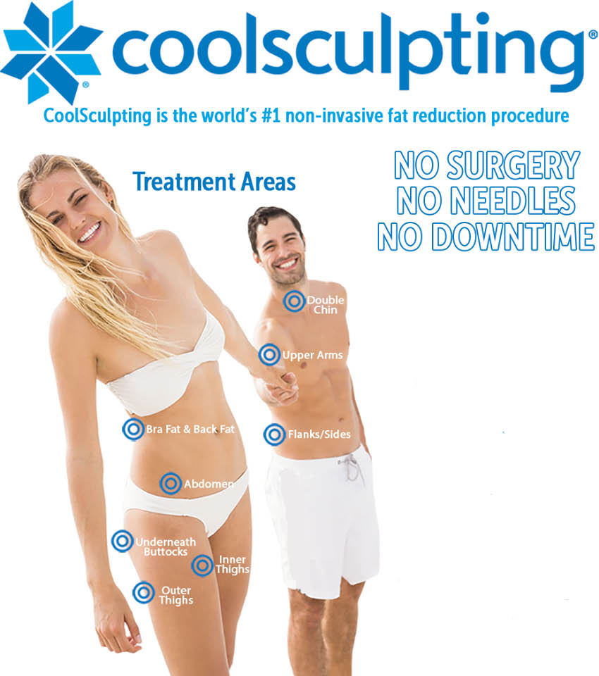 Precious Medical Spa in Everett, Washington - coolsculpting - lose weight - eliminate stubborn fat without surgery or downtime - coolsculpting coupons near me