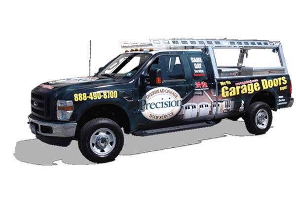 Call Precision Garage Door for the same day garage door repairs
