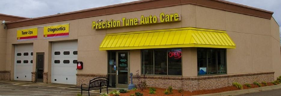 Precision Auto Tune garage and building