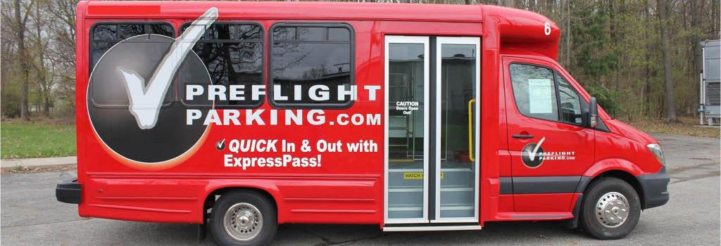 PreFlight Airport Parking Shuttle Banner Picture