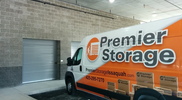 Premier Storage has a covered load and unload area - Issaquah, WA - Issaquah storage units - storage in Issaquah