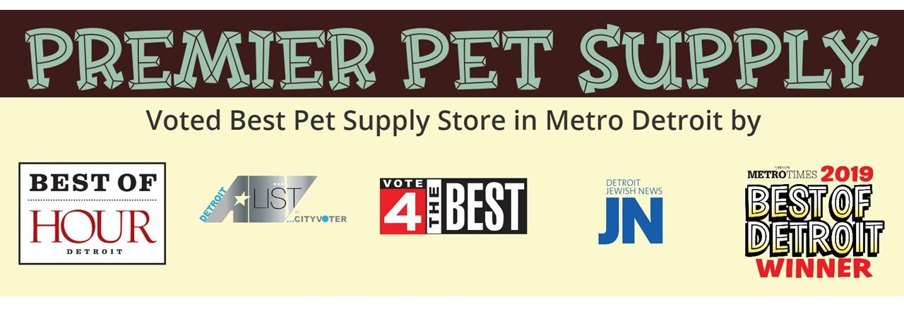 Premier Pet Supply in Canton, MI banner