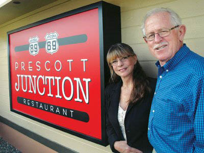 Prescott Junction Restaurant Owners Nancy & Don Burton