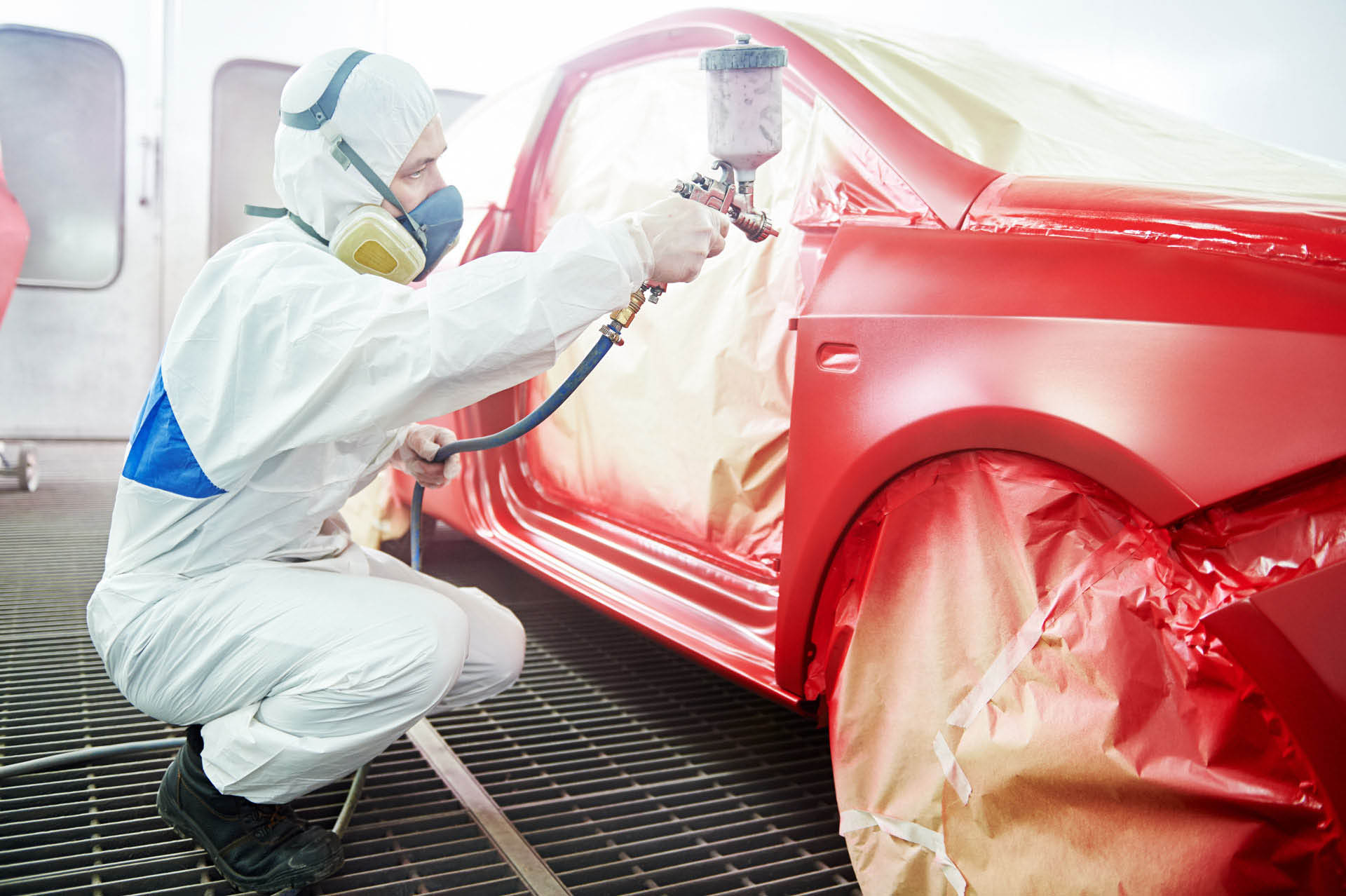 Get a custom paint job on your car at Prestige Auto Body and Painting in Anaheim, CA.