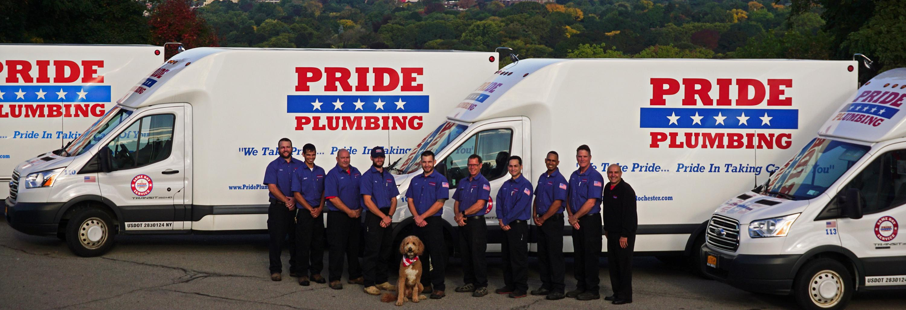 pride plumbing rochester ny