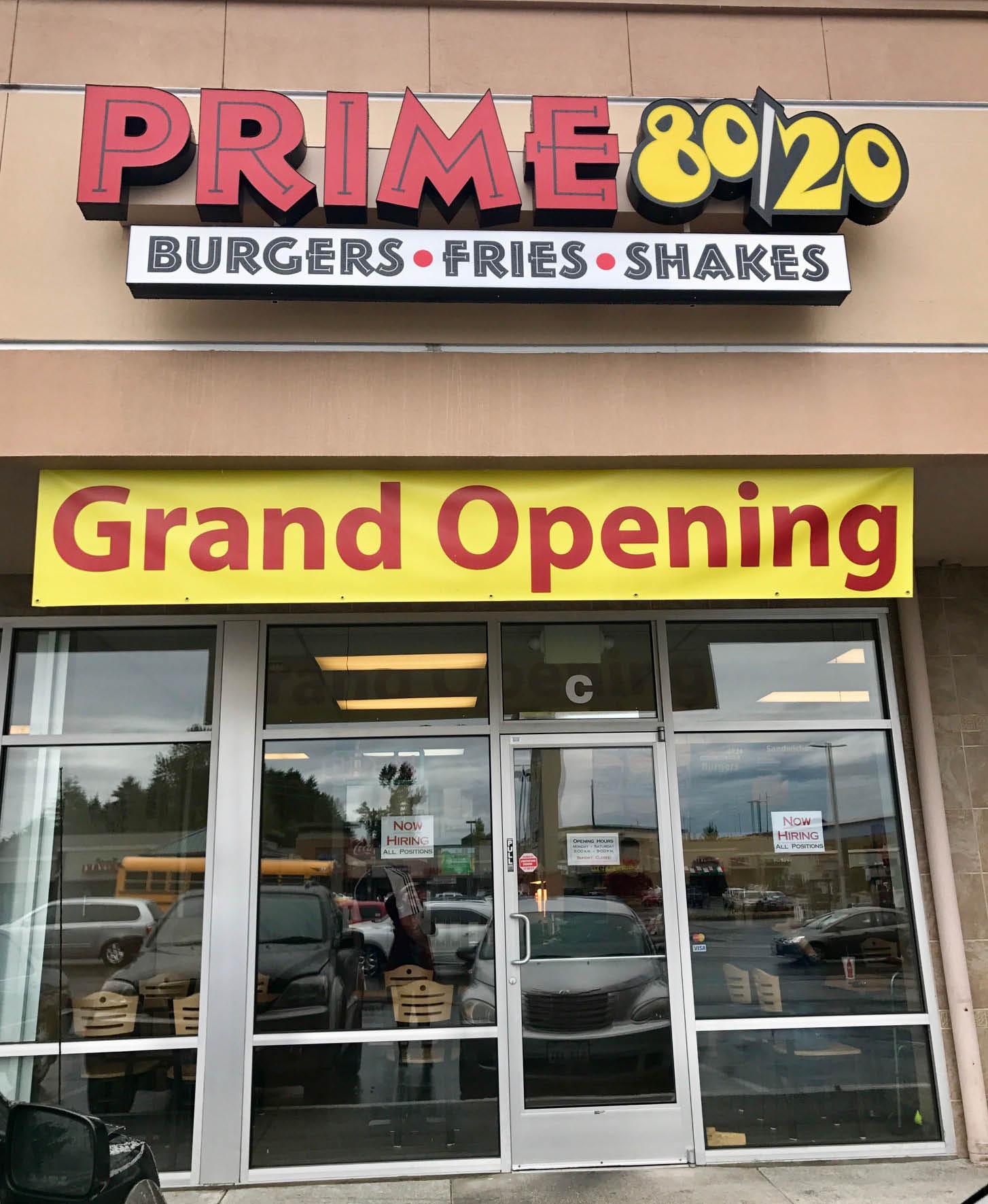 Outside Prime 80/20 burgers fries shakes - Tacoma, WA - Tacoma restaurants - restaurants in Tacoma
