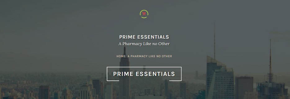Prime Essentials, a Pharmacy Like No Other - dusky view of Empire State Building and New York City