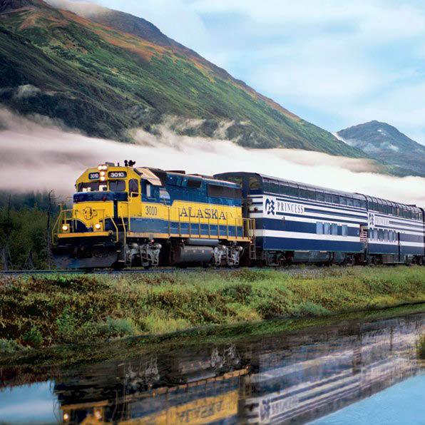 Princess Lodges Alaska Rail Tours