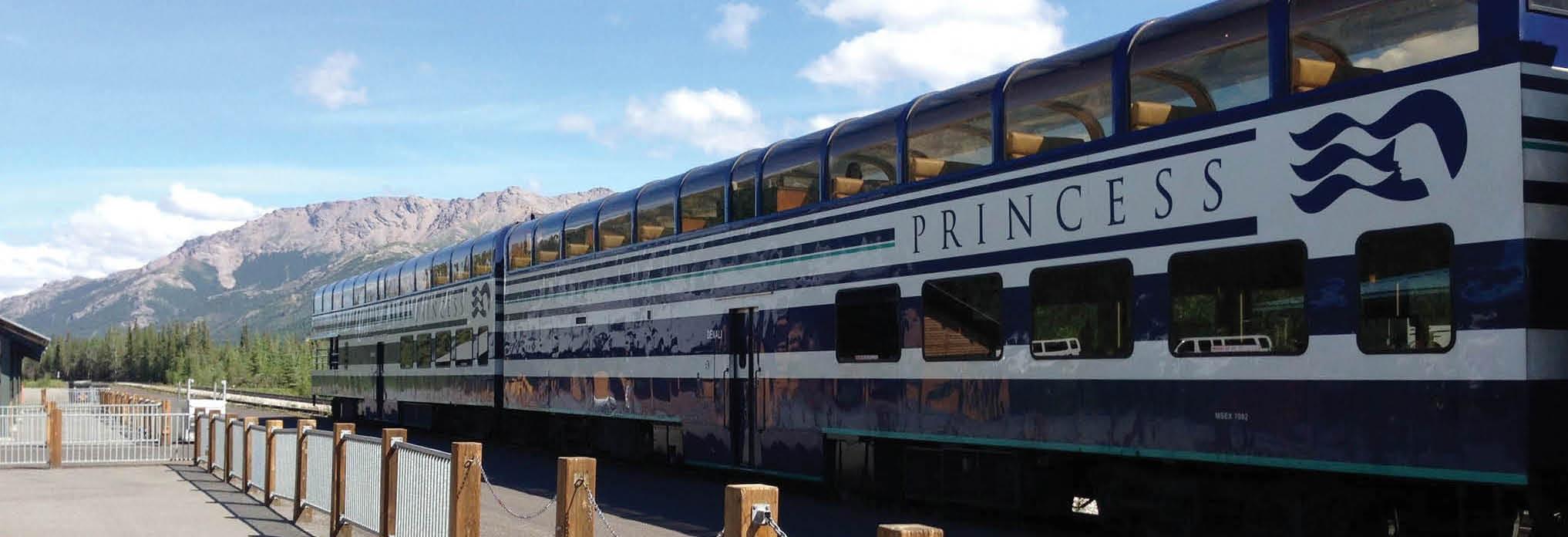 Princess Lodges - Rail Tours - main banner image - Alaska