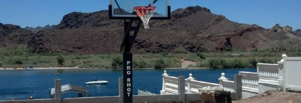 photo of Pro Shot basketball pole