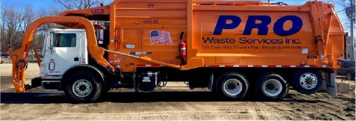 Pro Waste Services, Inc. in Erie, PA banner