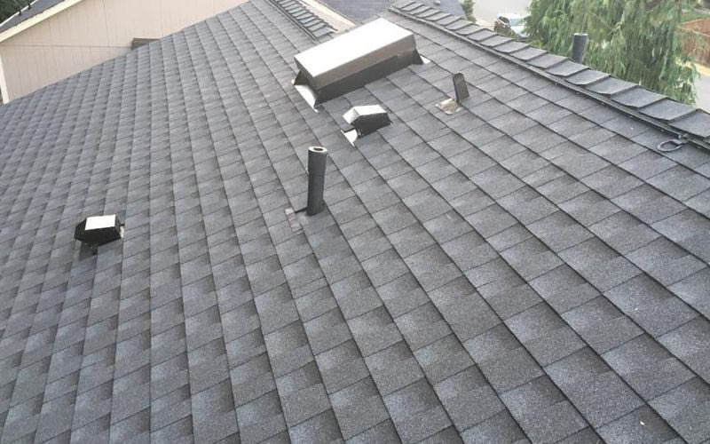 Beautiful new roof installed by the professional roofing contractors at Green Built Exteriors LLC - Sumner, WA - roofing companies near me - roofers near me - roofer coupons near me