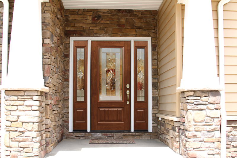 Signet Door by Provia installed by M&M Home Remodeling.