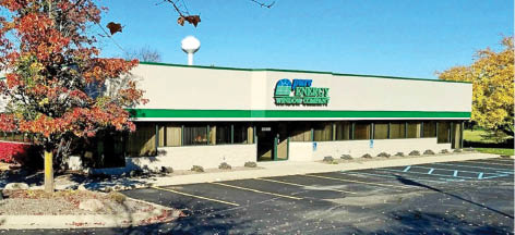 photo of exterior of Pure Energy Window Company in New Hudson, MI