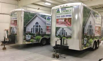 photo of Pure Energy trailers in New Hudson, MI