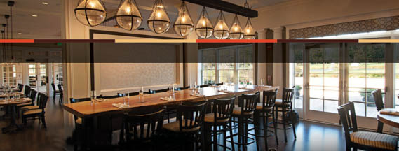 Restaurant interior Pure North Fork Craft Bar & Bistro in Wading River, NY