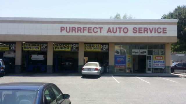 Purrfect Auto Service Brake Inspection CA he auto repair shop, car battery repair