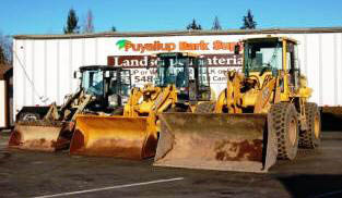 Puyallup Bark Supply loaders - Puyallup, WA